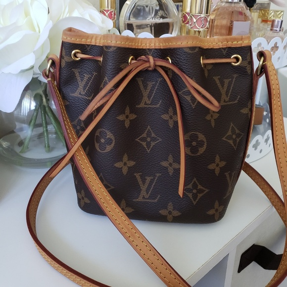 6f3ba15d8a0 Louis Vuitton Handbags - Louis Vuitton Monogram Nano Noe